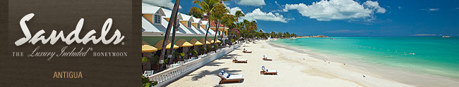 Sandals Antigua Honeymoon Registry