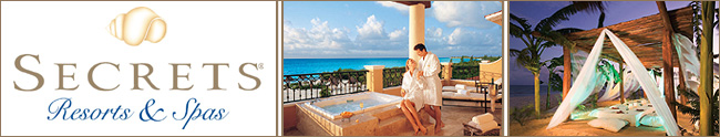 Secrets Resorts Mexico - Honeymoon Destination