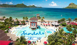 Sandals St. Lucia Honeymoon Registry