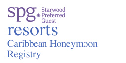 Starwood Caribbean Honeymoon Registry
