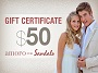 Sandals Jewelry Gift Certificate - $50