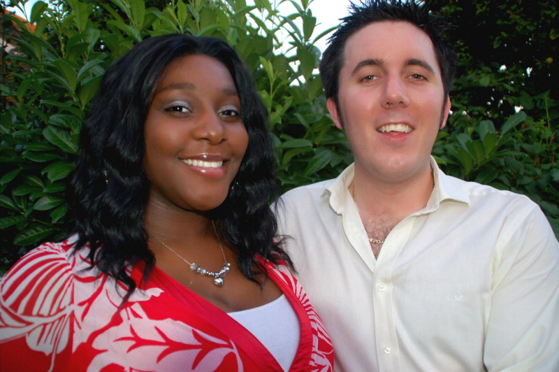 Vennessa Stephenson and Ricky Zimmer