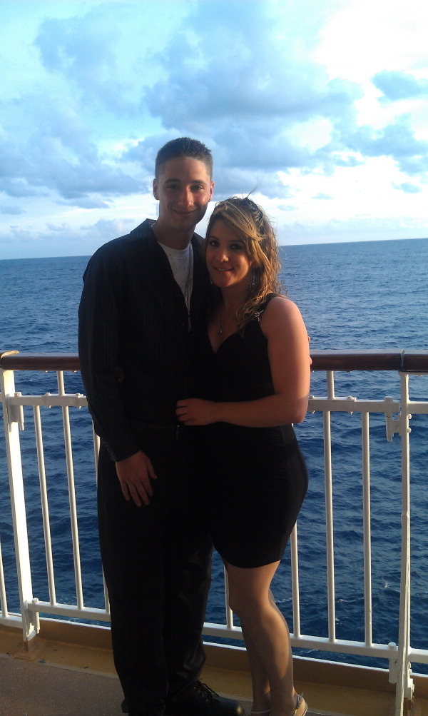 kristy zubradt and Shane Morris