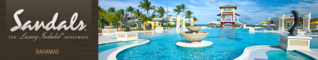 Sandals Bahamas Honeymoon Registry