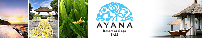 AYANA Resort & Spa Bali Honeymoon Registry