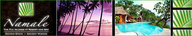 Namale Resort South Pacific - Honeymoon Destination