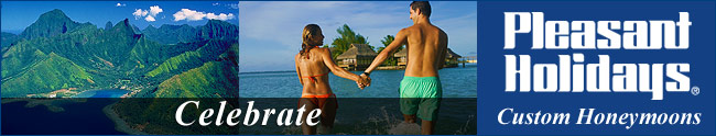 Pleasant Holidays Honeymoon Registry