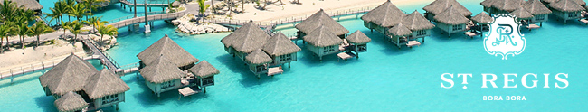 St. Regis Bora Bora Honeymoon Registry