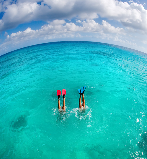 Snorkel Gear for the Honeymoon