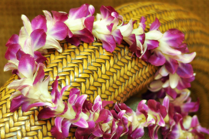 Traditional Lei Greeting