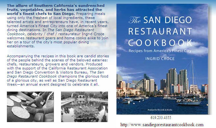 The San Diego Restaurants Cookbook