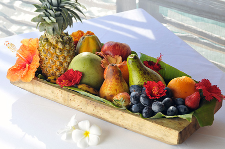 Fruit Basket in Our Villa