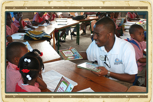 Sandals Foundation Reading Road Trip