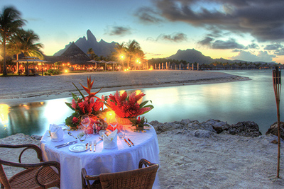 Candlelit Dinner on the Beach