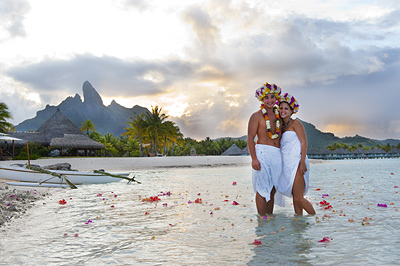 Our Traditional Polynesian Wedding