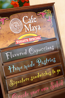 Contribution towards Dining at Caf� Maya