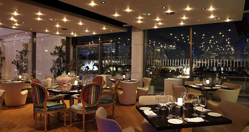 Dining at Galaxy Restaurant & Bar