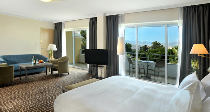 Our King Hilton Executive Room