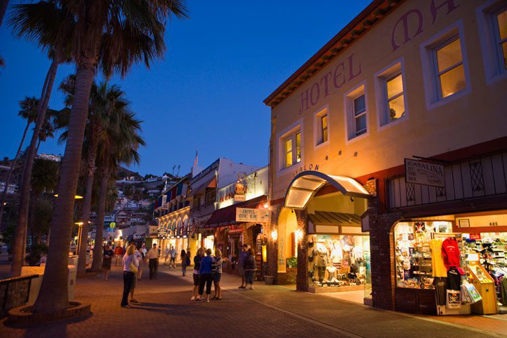 Shopping Along the Oceanfront Promenade
