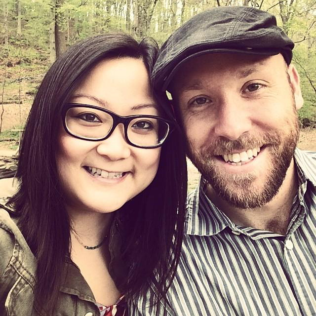 Jennifer Wang and Matthew Eckel