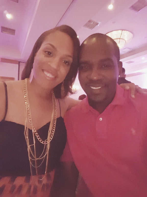 Keith Ellington and Brittney Uzzell